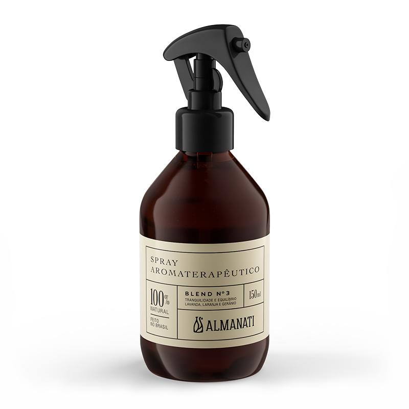 Spray Aromaterapêutico Blend 3 150mL Almanati
