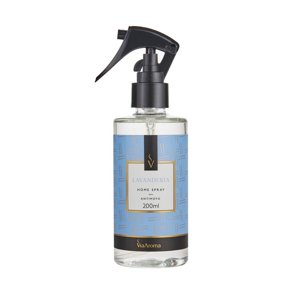 Spray Home Lavanderia 200mL Via Aroma
