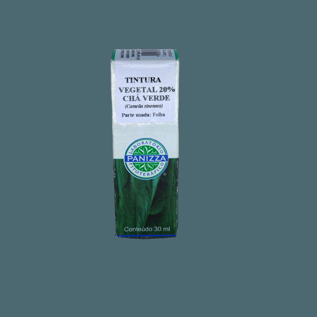 Tintura Chá Verde 30mL Panizza