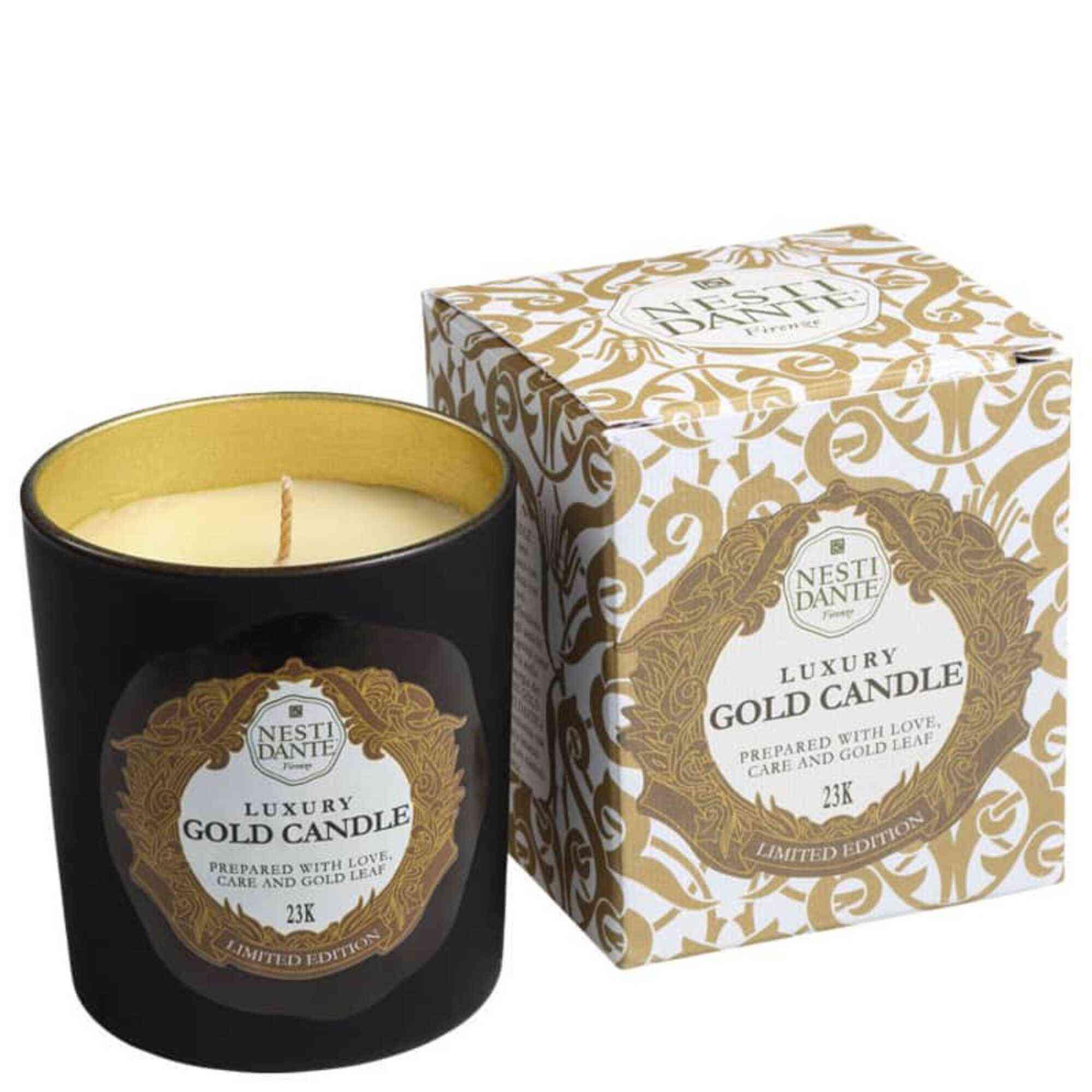 Vela Perfumada Luxury Gold 160gr Nesti Dante