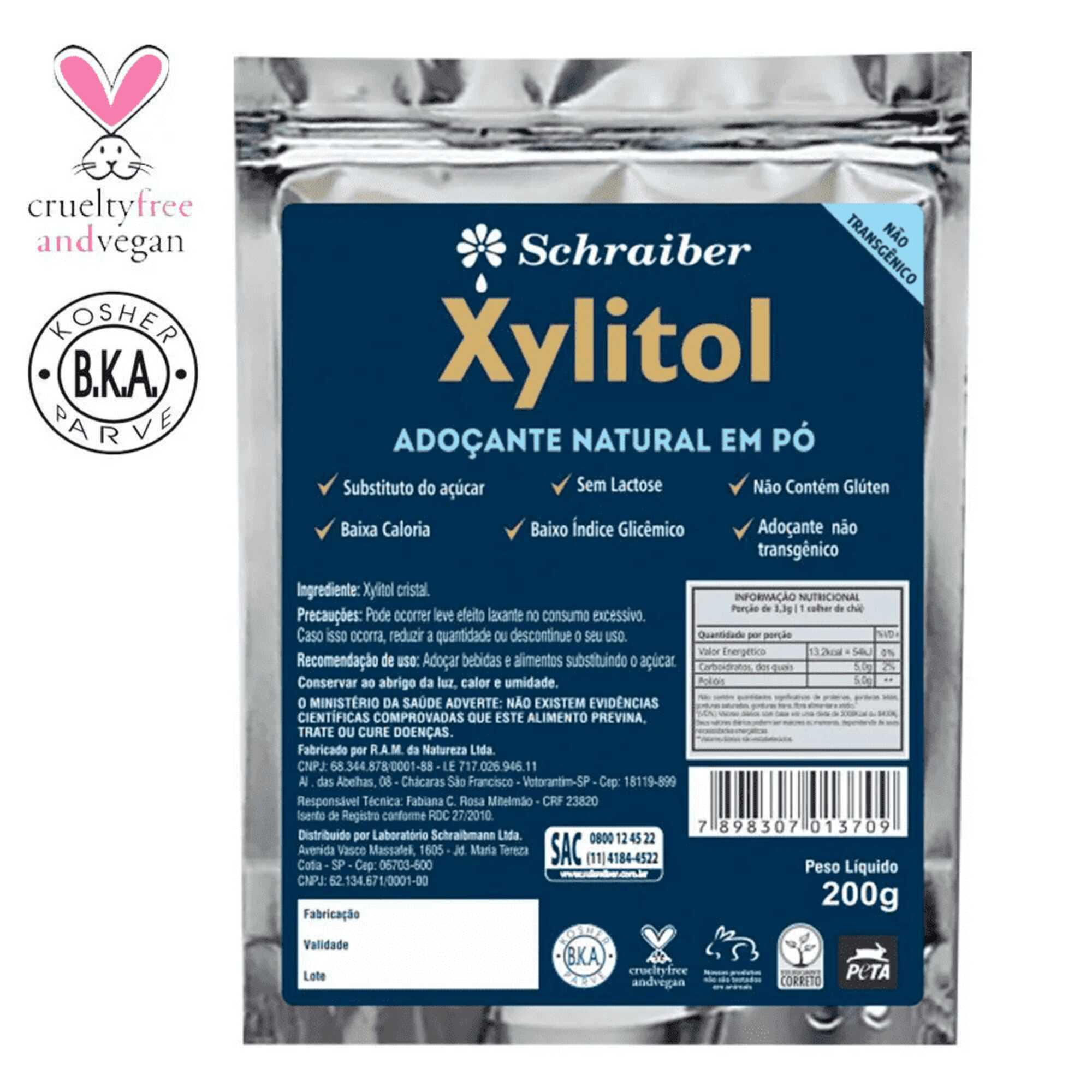Xylitol 200g Schraiber
