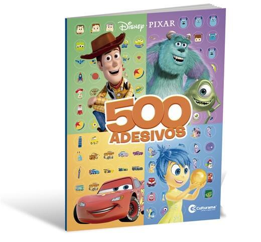 500 Adesivos Disney Pixar - Culturama