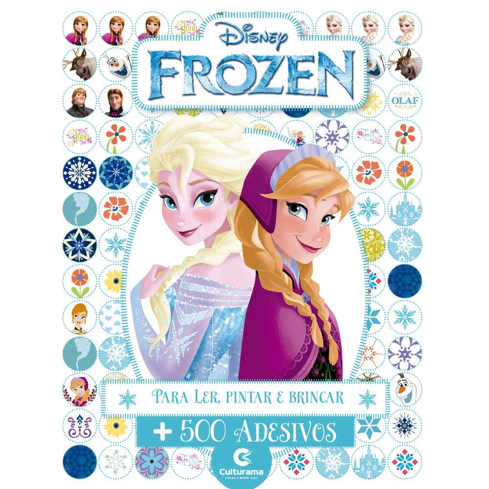 500 Adesivos Frozen - Culturama