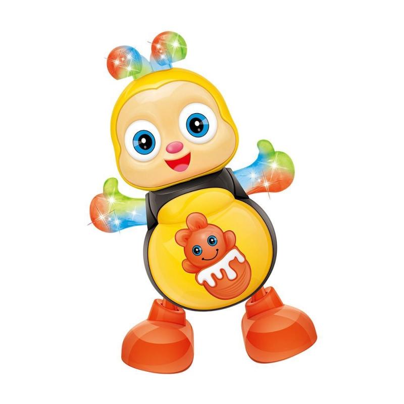 Abelha Dançarina de Brinquedo com Som e Luz DM