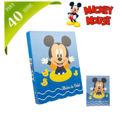 Albúm de fotos Mickey para 40 Fotos Etilux