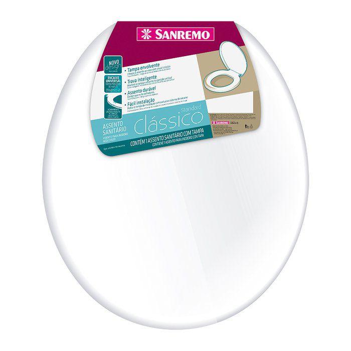 Assento Sanitário Standart Clássico Sanremo
