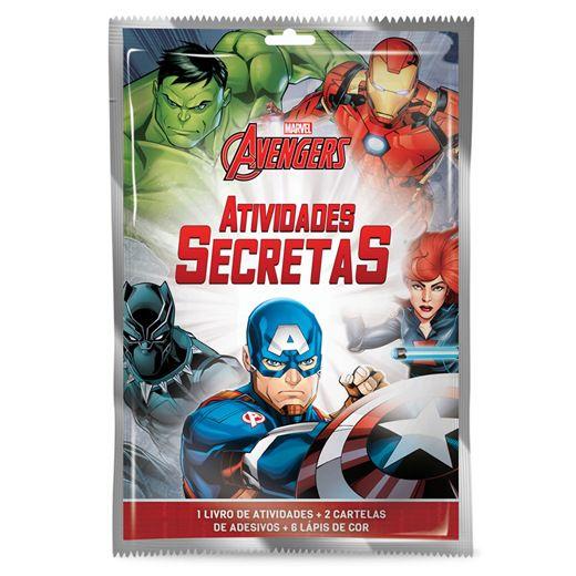 Atividades Secretas Vingadores - Culturama