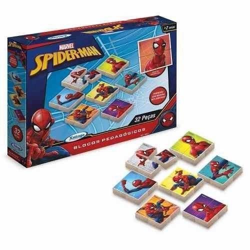 Blocos Pedagógicos Ultimate Spider Man Xalingo