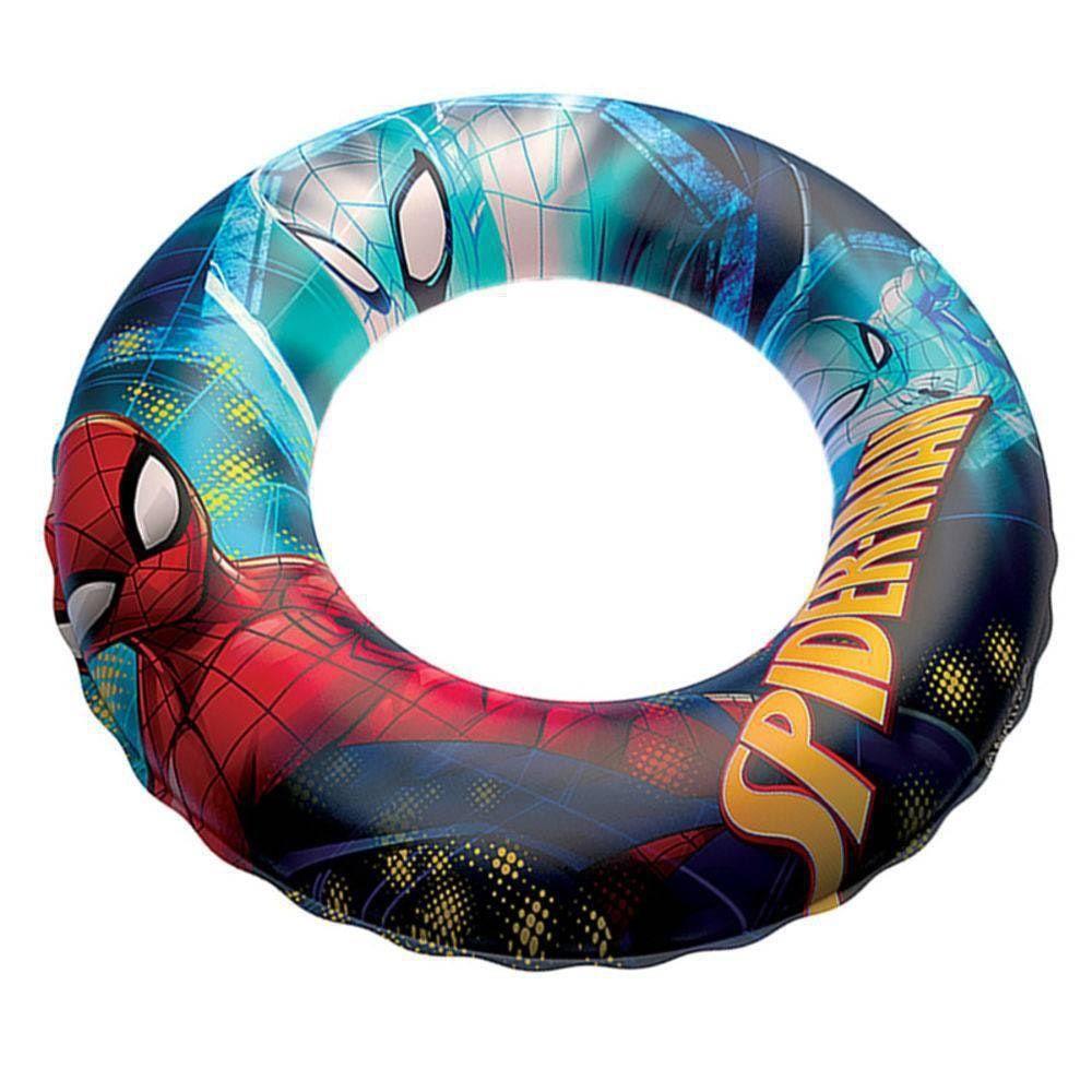 Boia de Cintura Inflável Marvel Spider Man 56cm Etitoys
