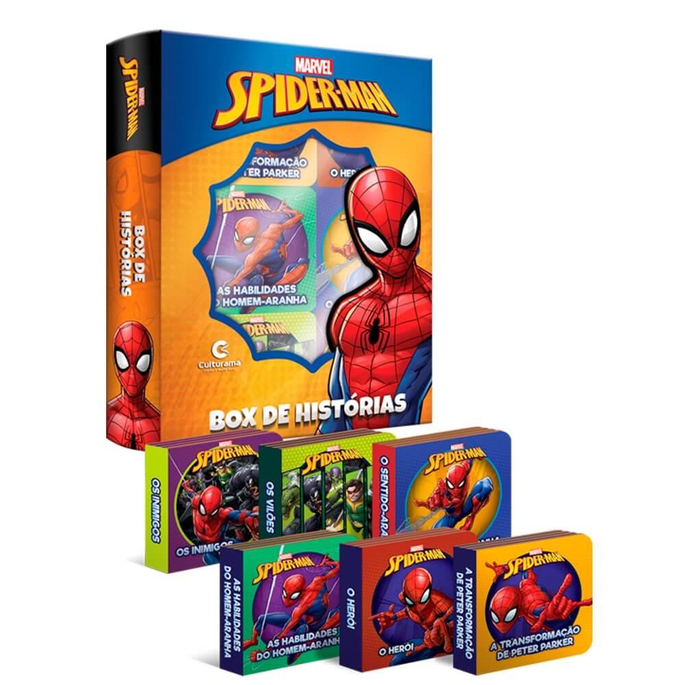 Box de Histórias Homem-Aranha  Culturama