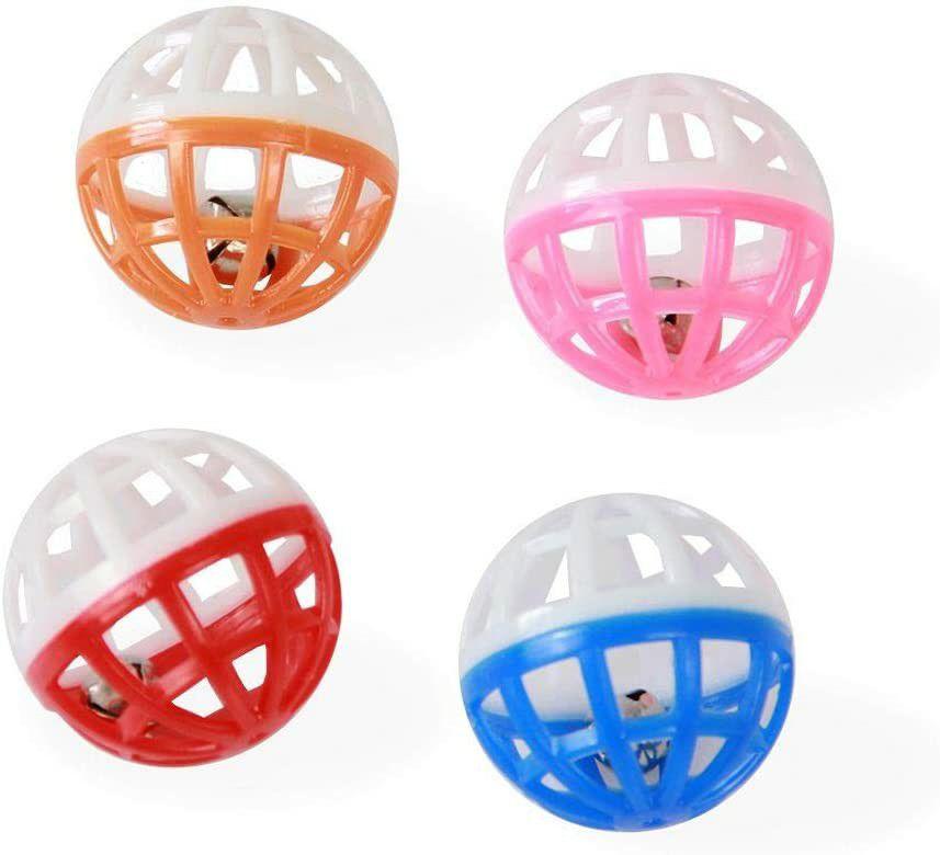 Brinquedo Conjunto com 4 Bolas Amo Pet