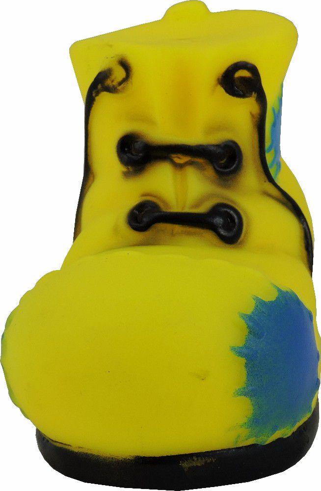 Brinquedo Mordedor Botina de Borracha Amo Pet