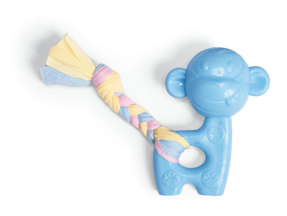 Brinquedo Mordedor Macaco Amo Pet