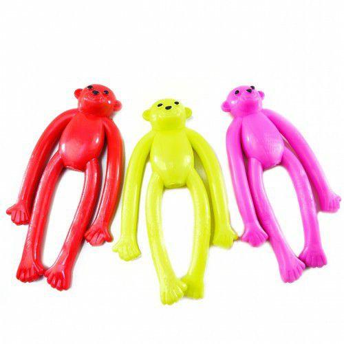 Brinquedo Mordedor Macaco de Silicone Amo Pet