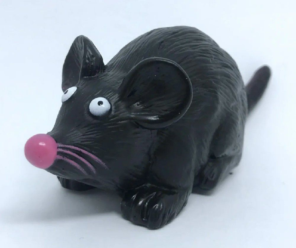 Brinquedo Mordedor Rato 16,5CM Amo Pet
