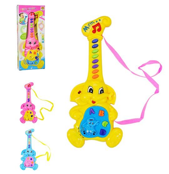 Brinquedo Musical Guitarrinha Elefante Dm Toys
