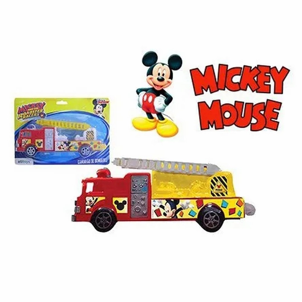 Caminhão de Bombeiro A Fricção Mickey Sortidos Etitoys