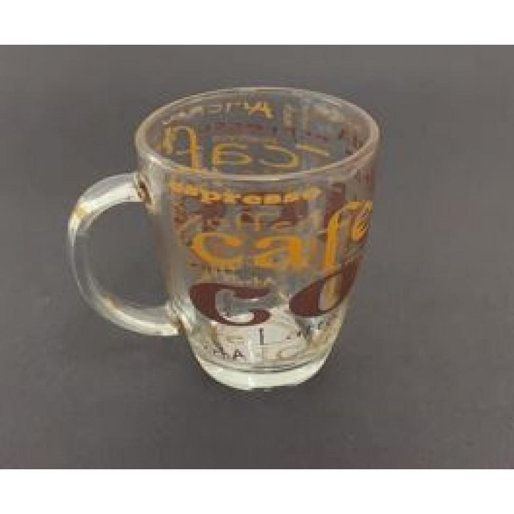 Caneca Coffee de Vidro 370ml