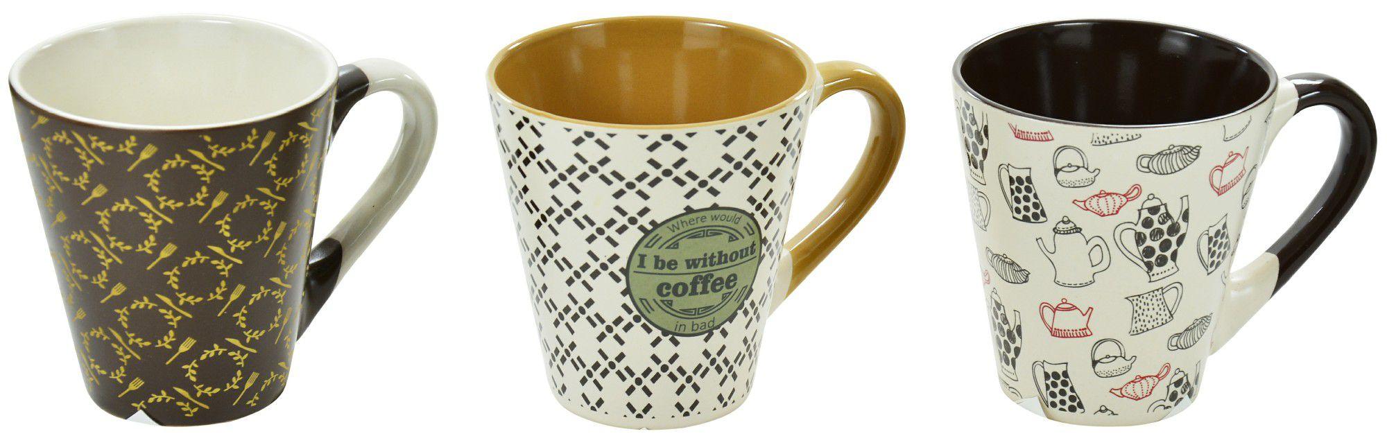 Caneca de cerâmica 200ml Coffee Wincy