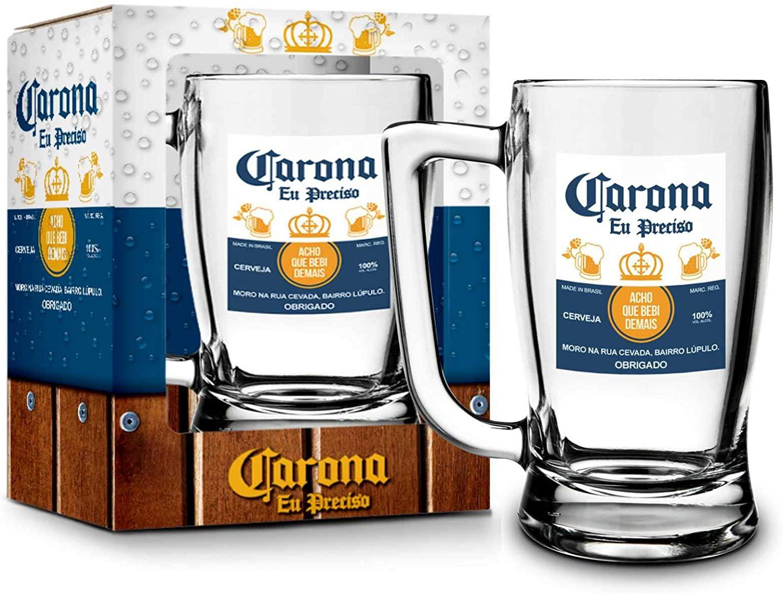 Caneca Taberna Corona - Brasfoot