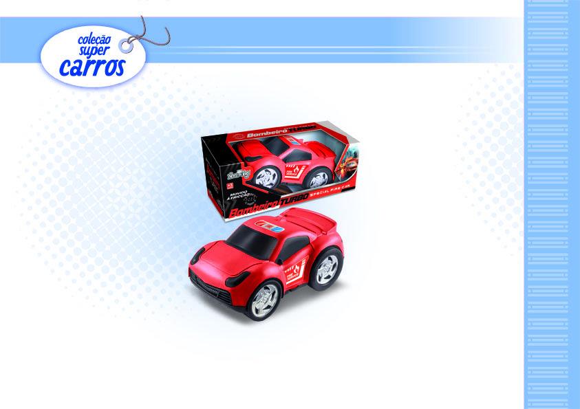 Carro de Bombeiro Turbo Nova Toys