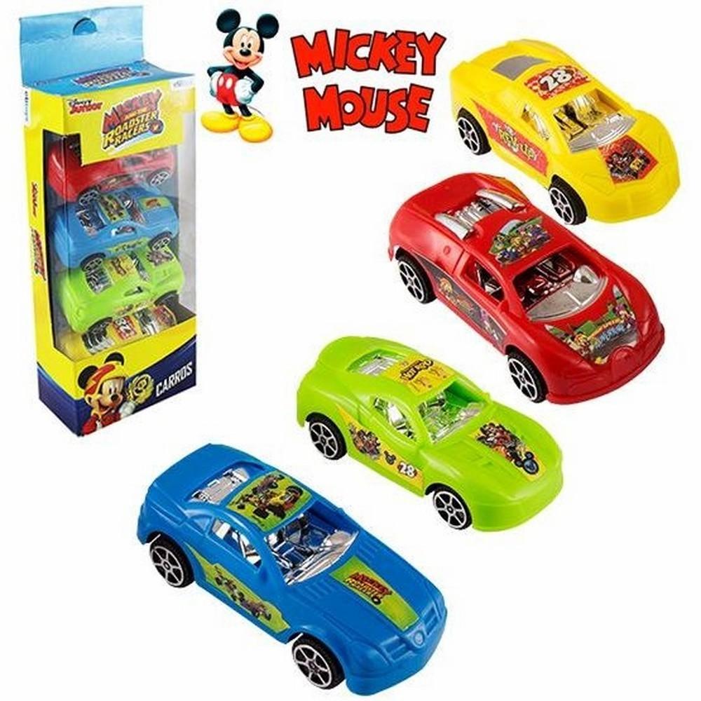 Carro de Fricção 4 Peças Mickey - Etitoys