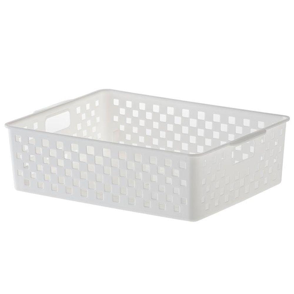 Cesto Organizador Quadratta 27cm Branco - Paramount