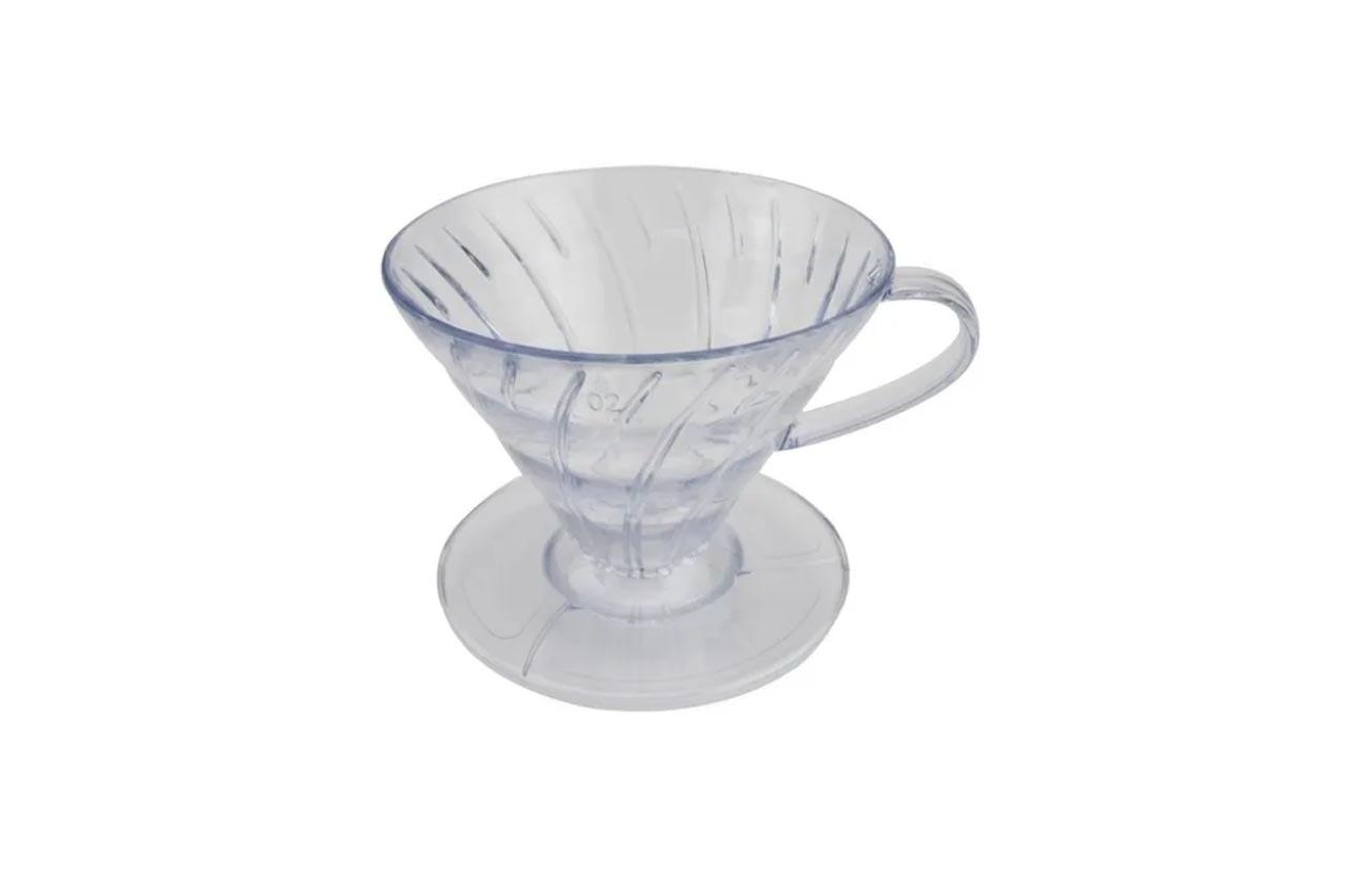 Coador de Café Grande Plástico Transparente Clink