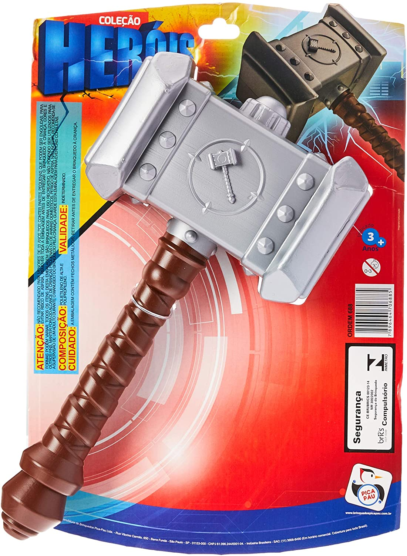 Coleção Heróis Martelo do Thor Pica Pau