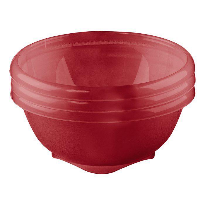 Conjunto 3 Potes de Sobremesa Plástico Sanremo