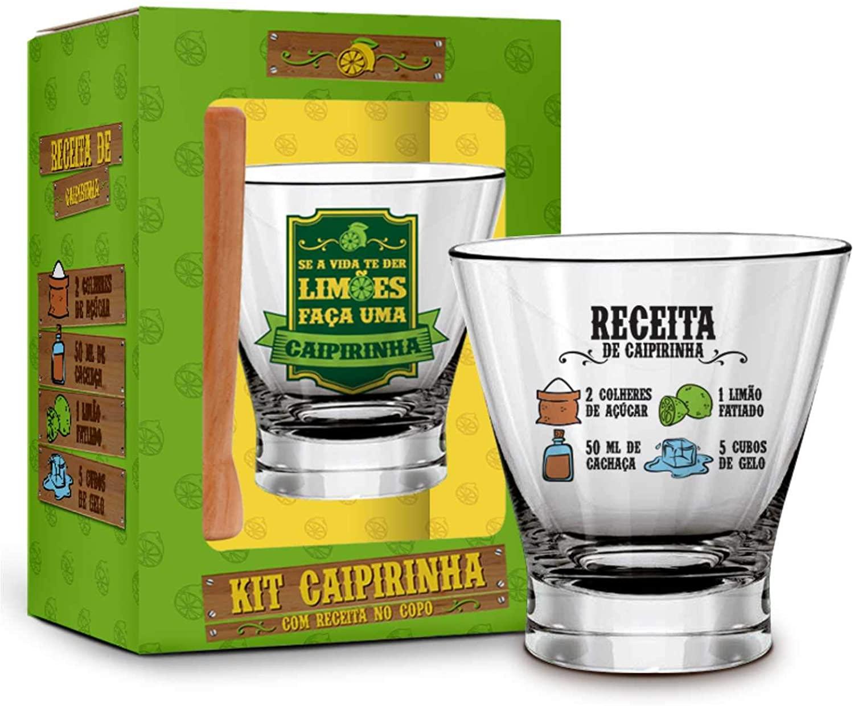Conjunto de Caipirinha com Receita - Brasfoot