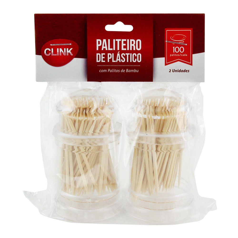 Conjunto de Paliteiro Plástico com 2 Peças Clink