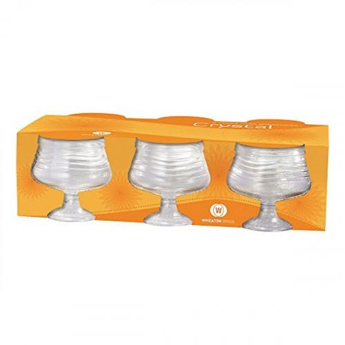 Conjunto de Taças Para Sobremesa Crystal com 6 Unidades Wheaton