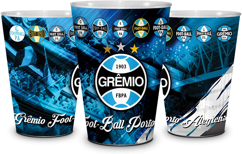 Copo Plástico 600ML Grêmio - Brasfoot