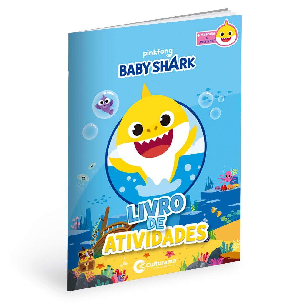 Diversão com Adesivos Baby Shark