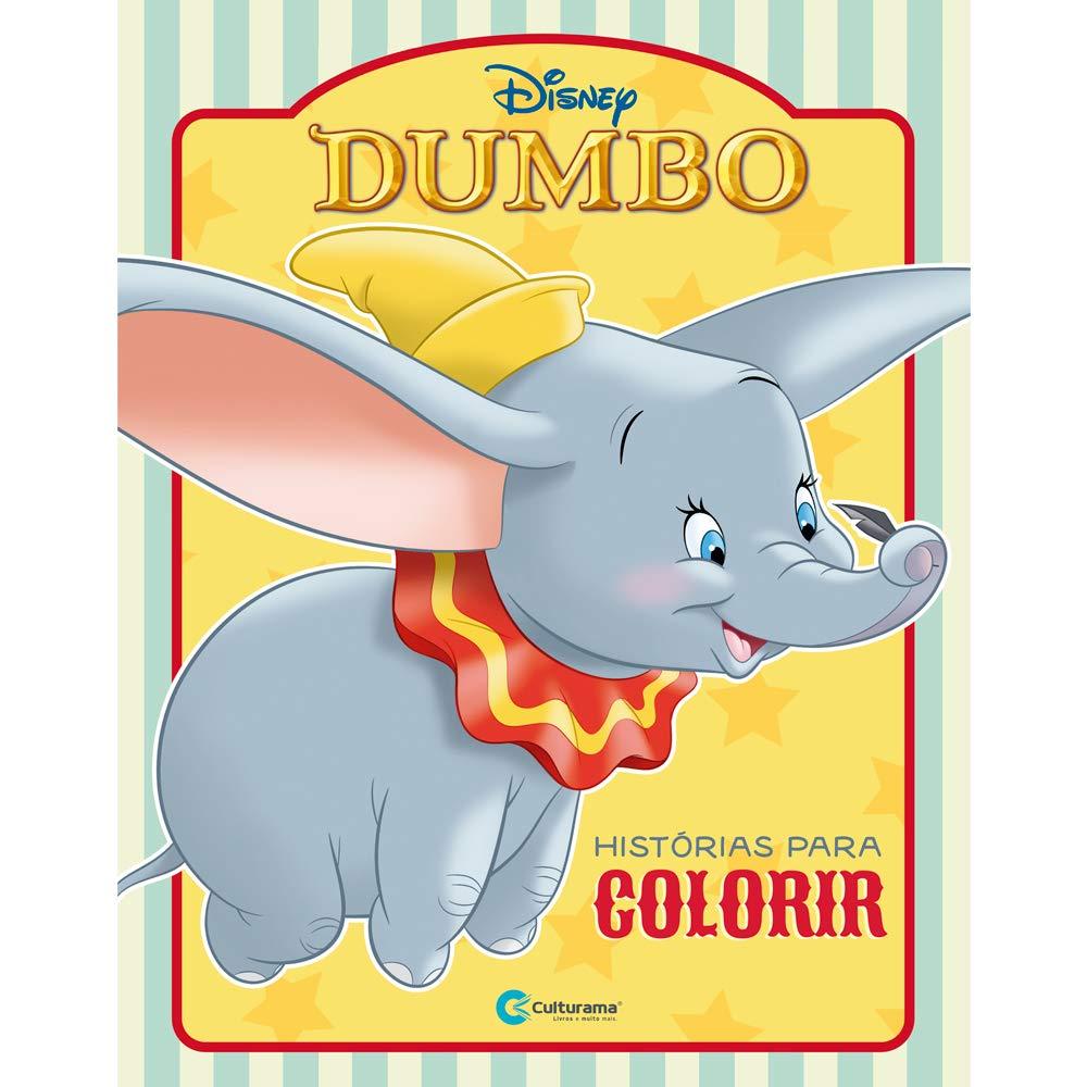 Dumbo Histórias para Colorir Culturama