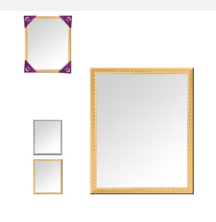 Espelho Cromado Zein