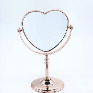 Espelho de Mesa Coração
