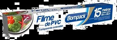 Filme de PVC transparente - Bompack