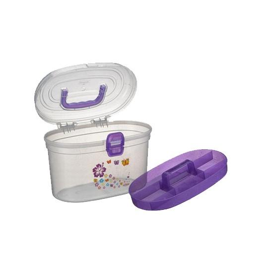 Frasqueira Oval Plástico Nitron