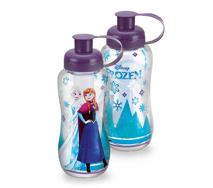 Garrafa Frozen com Tubo Gelo 550ml Plasduran