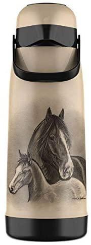 Garrafa Térmica 1,8L Magic Pump Cavalos Termolar