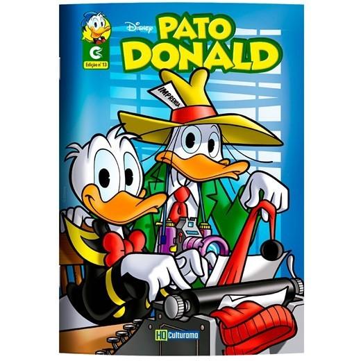 Gibi História em Quadrinho Pato Donald  Culturama