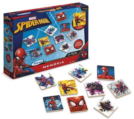Jogo da Memória Spider Man 24pcs Xalingo