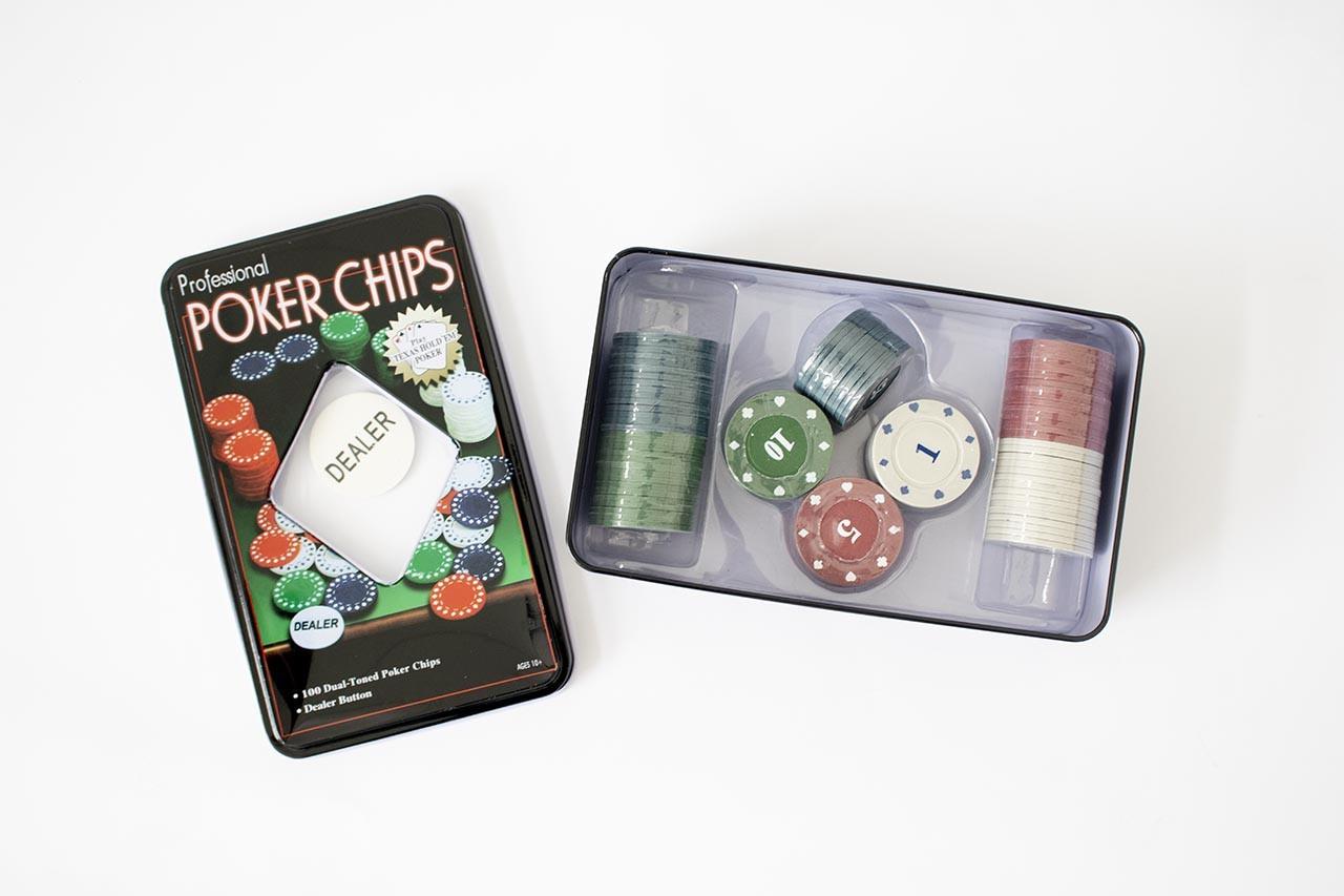 Jogo de Poker 100 Fichas Wincy
