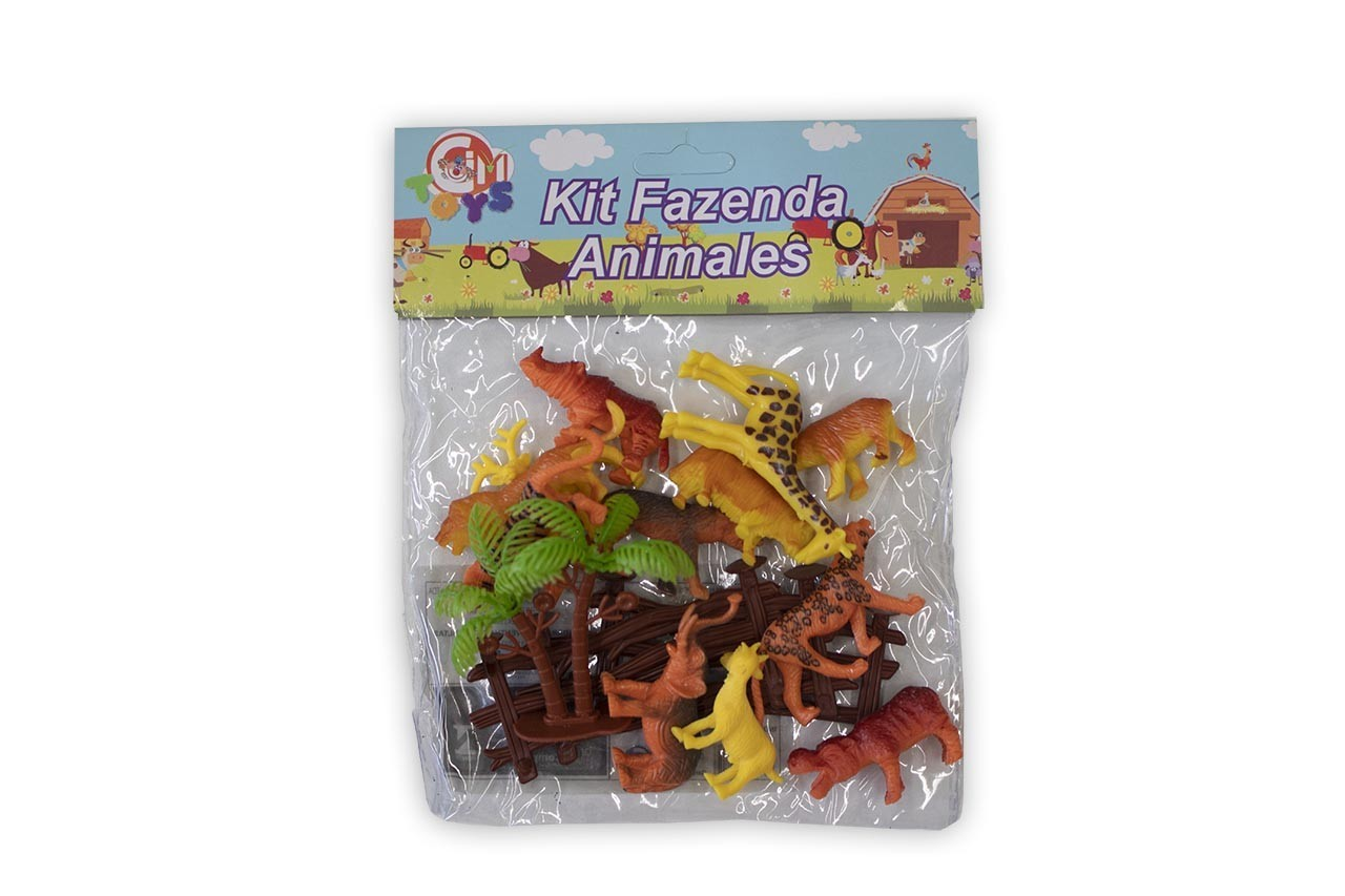 Kit Animais da Fazenda Cim