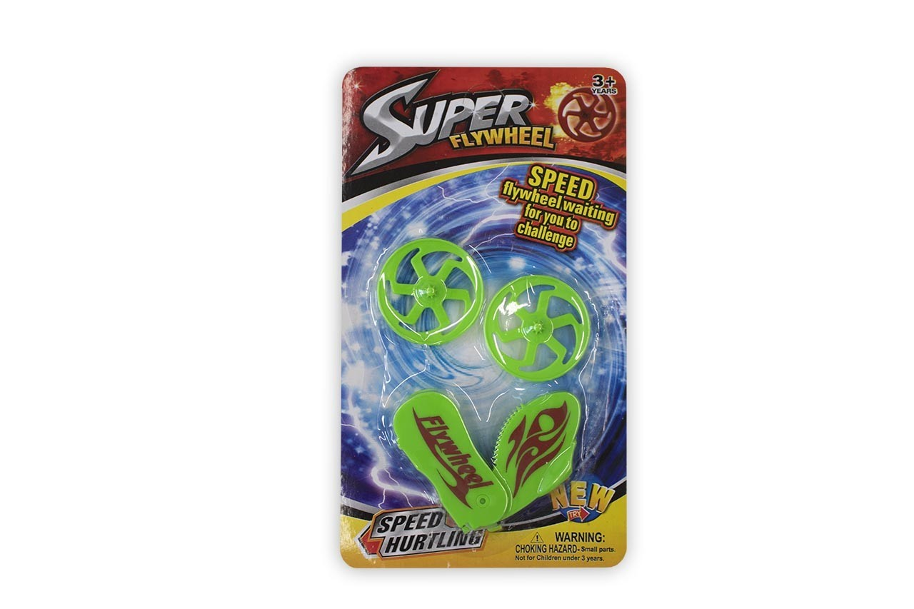 Lançador com 2 Discos Super Flywheel Cim