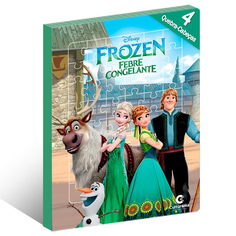 Ler e Brincar Frozen Fever com Quebra Cabeça - Culturama