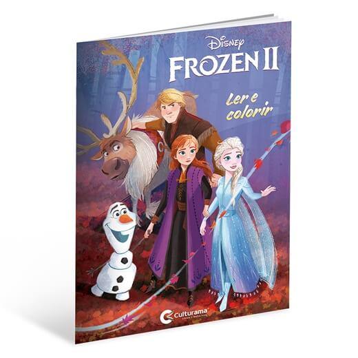 Ler e Colorir Frozen 2  Culturama