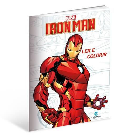 Ler e Colorir Homem de Ferro  Culturama